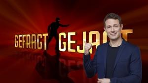 """Moderator Alexander Bommes präsentiert die neue Staffel """"Gefragt - Gejagt""""."""