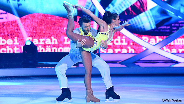 Klaudia mit k dancing on ice